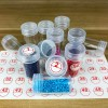 Transparent Containers & Stickers to Store Diamond Drills