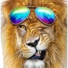 Fab Lion with Sunglasses - DIY Painting Kit