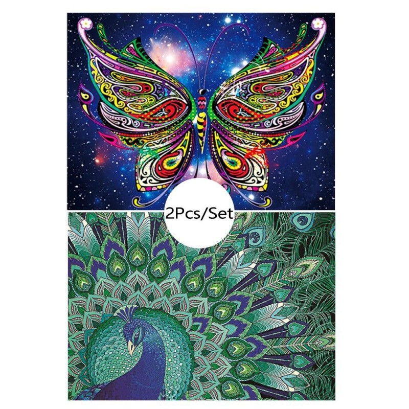 Peacock & Butterfly ...