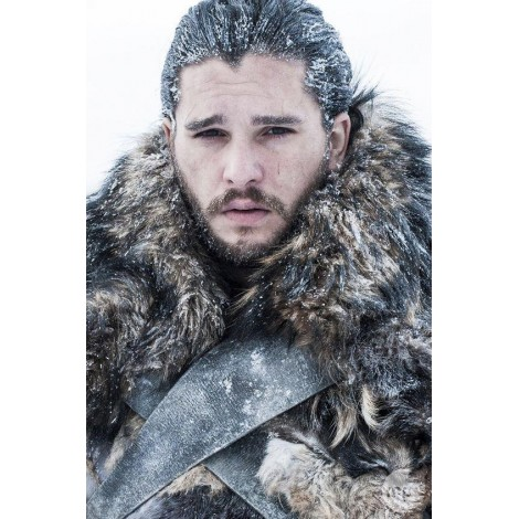 Jon Snow from Game of Thrones - DIY Painting
