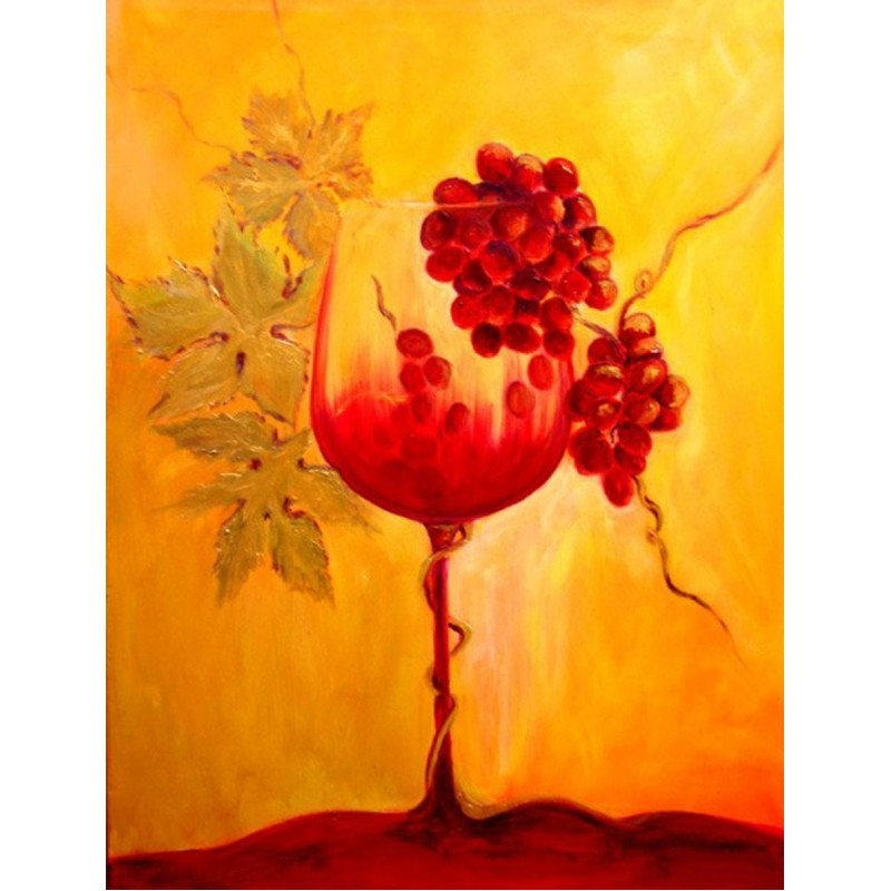 Red Grapes & Wine Pa...