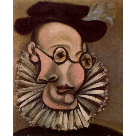 Abstract Portrait Painting by Picasso
