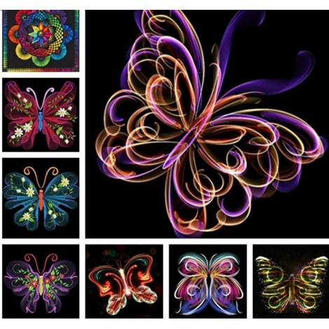 Unique Butterfly Collection of Paintings