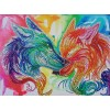 Couple of Wolves - Special Diamond Painting