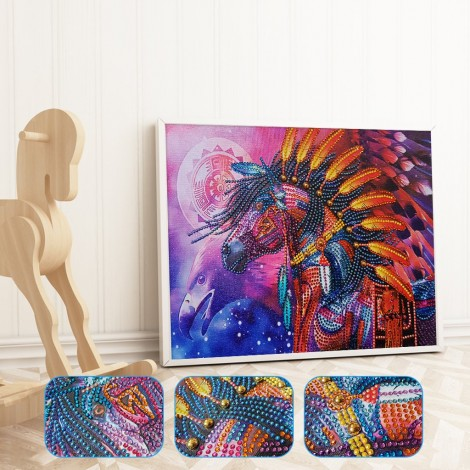Native Horse Special Diamond Painting