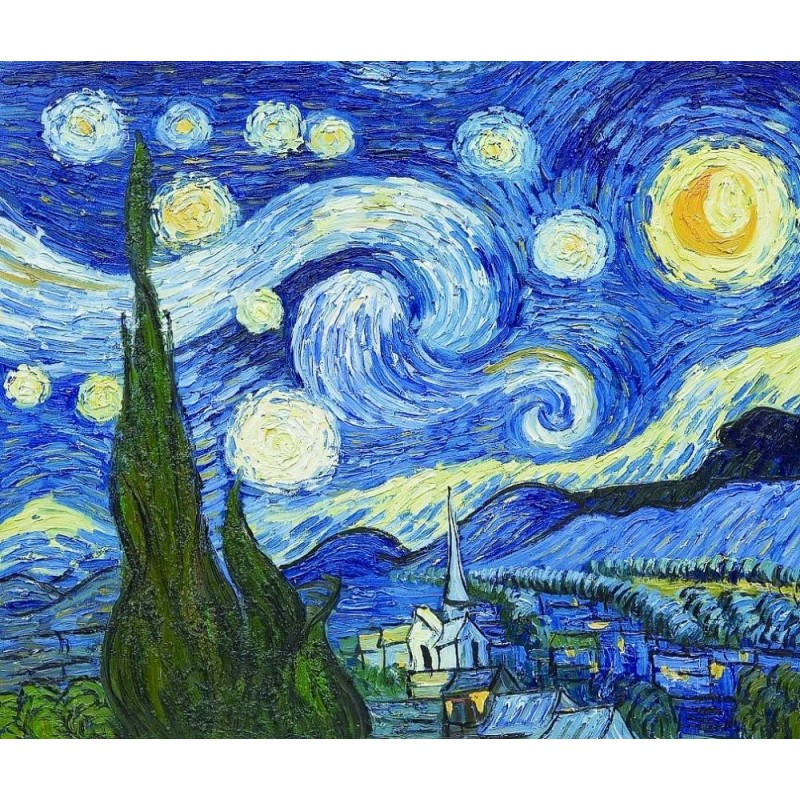 The Starry Night by ...